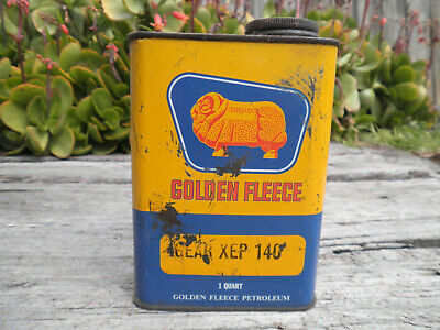 Golden Fleece Petroleum Garagenalia Collectable - Gear Oil can 1 Quart