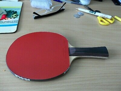 Pimplepark Murus Table Tennis Bat with Rubbers