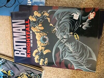 Batman Knightfall TP Part 01 Broken Bat by Doug Moench (Paperback, 1993)