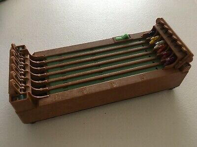 Vintage 1960's Shinsei Mini Derby, Horse Racing Game, Working
