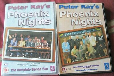 Phoenix Nights - Series 1 and 2 Complete DVD & Booklets. Peter Kay. First Second