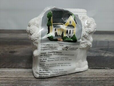 California Creations Country House 10305 Ready to Paint Creative Crafts Village