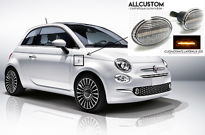 LED SIDE MARKER LIGHTS REPEATERS for FIAT 500 595 ABARTH COMPETIZIONE MONZA 07<