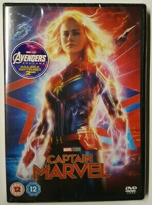 Captain Marvel [DVD] 🆕️BRAND NEW SEALED
