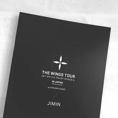 BTS JIMIN THE WINGS TOUR IN JAPAN official goods Photobook photo book kpop
