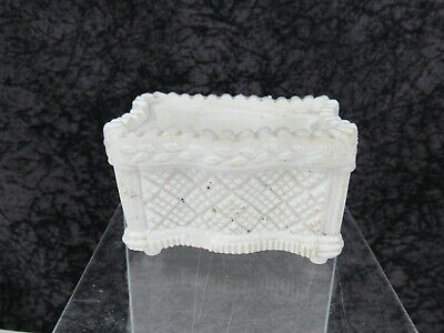 Antique Boston & Sandwich Lacy Pressed Glass Salt Neale SD 4c
