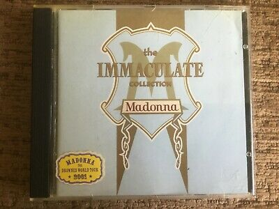 MADONNA The Immaculate Collection CD Best Of Greatest Hits