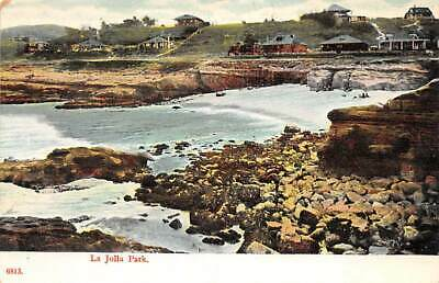La Jolla, San Diego, CALIFORNIA ~ La Jolla Park and beach - homes in backgrounc