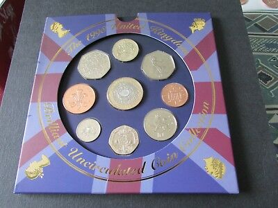 1998 United Kingdom Brilliant Uncirculated  Coin Collection.