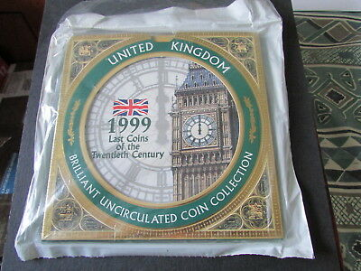 1999 UNITED KINGDOM   BRILLIANT UNCIRCULATED COIN COLLECTION. c