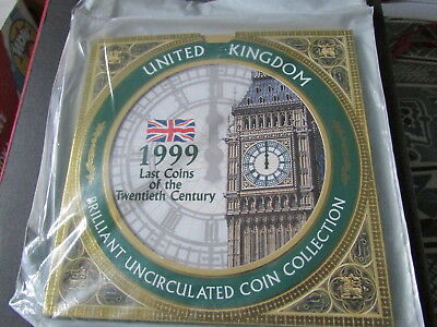 1999 United Kingdom  Brilliant Uncirculated Coin Collection. (A)