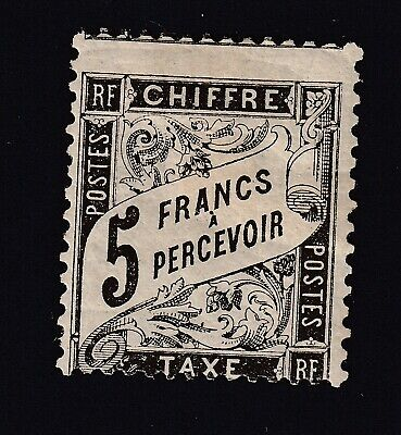Taxe N°24 Neuf Charniere Forte Signe Calves Timbre Stamp Briefmarken