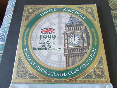 1999 United Kingdom Brilliant Uncirculated Coin Collection.