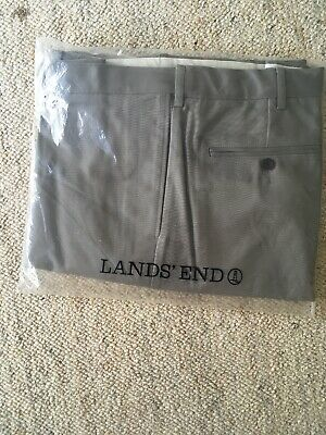 Land's End Chinos Size 40 Steeple Grey colour NEW