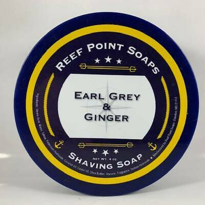 Earl Grey and Ginger Shaving Soap - by Reef Point Soaps (pre-owned)