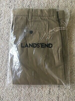 Land's End Chinos Size 40 FIELD DRAB colour