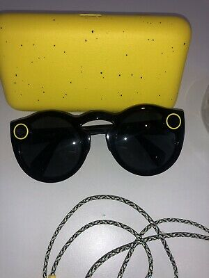 Snap Inc. Snapchat Spectacles Glasses - Onyx Moonlight - USED GREAT CONDITION
