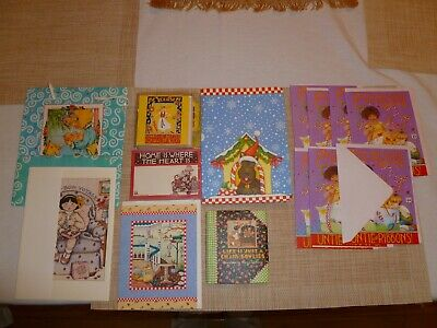 Lot Of Mary Engelbreit Cards/Bag/ Journal/Gift Tags/Sticky Notes