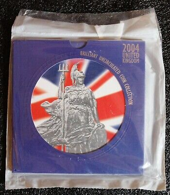 Royal Mint 2004 Brilliant Uncirculated 10 coin set. Sealed