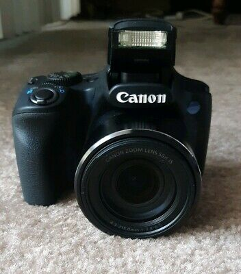Canon PowerShot SX530 HS 16MP/50x WiFi Dig. Camera w/ Case, Strap, and Charger
