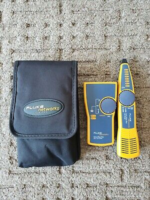 Fluke Networks IntelliTone Pro 200 LAN Toner, Probe and Case Excellent Condition