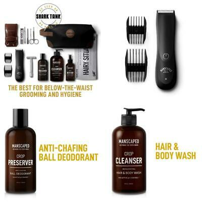 Manscaped Perfect Package 2.0 Kit Contains: Electric Trimmer, Ball Deodorant, Bo