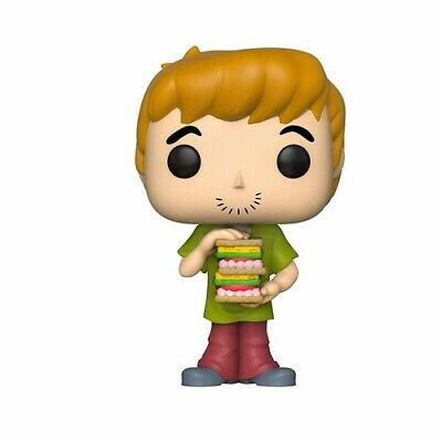 Scooby Doo - Shaggy W/ Sandwich - Funko Pop! Animation: (2019, Toy NEUF)