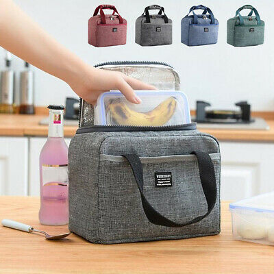 Oxford Thermal Insulated Lunch Bag Food Storage Lunch Box Picnic Pouch