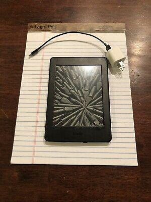 AMAZON KINDLE PAPERWHITE (7th Generation) 4GB, Wi-Fi, Black