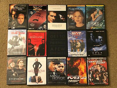 Excellent Used Miscellaneous DVDs *Each DVD Sold Separately*