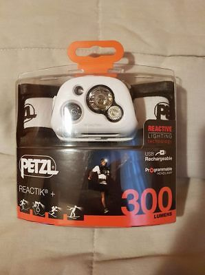 PETZL REACTIK+ Bluetooth 300 Lumens Linterna frontal (100% NUEVA/NEW)
