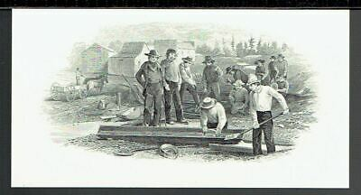 ABN 'Farmhands' Time-Life  19th Century Intaglio Reprint on Card 1978