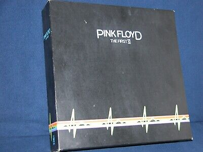 PINK FLOYD - THE FIRST XI –UK EMI HARVEST PF 11 LP BOX SET 2 picture disks rare