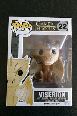 Funko Pop 2014 Game Of Thrones Viserion #22 Vaulted Retired Rare