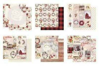 Prima Marketing 12x12 Collection Pack 12 Sheets Christmas in the Country
