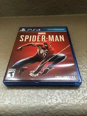 Marvel Spider-Man Great Condition (PlayStation 4, 2018)