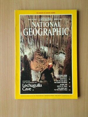 National Geographic Magazine  March 1991