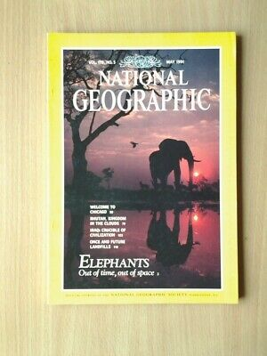 National Geographic Magazine  May 1991