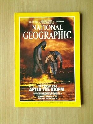 National Geographic Magazine  August1991