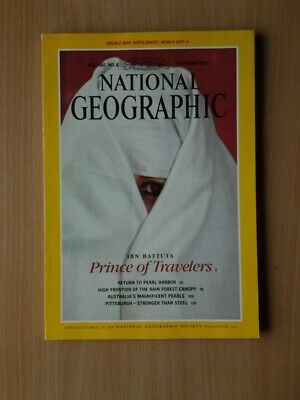 National Geographic Magazine  December 1991