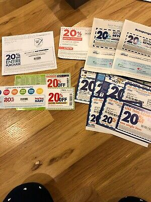 Bed Bath and Beyond  20% Off Entire Purchase 2 coupons - expires 09/2019 + More