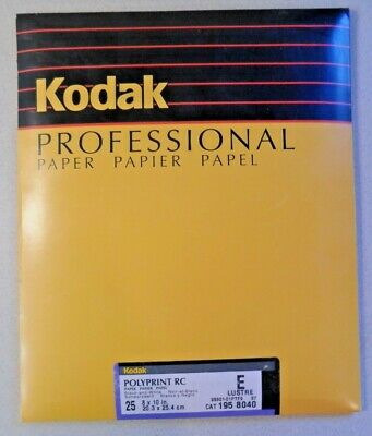 Kodak Polyprint RC Black and White Photographic Paper 50 sheets New Old Stock