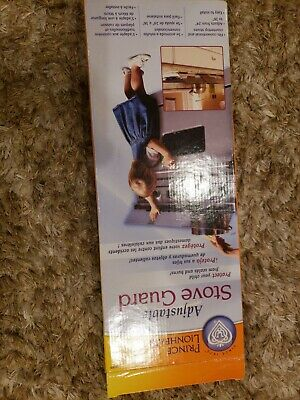 Prince lionheart Shield-A-Burb Adjustable  Stovetop Oven Stove Guard,  New in...