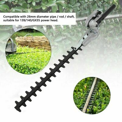 7/9 Teeth Universal Hedge Trimmer Cutter Attachment Expand Double Sided Blades