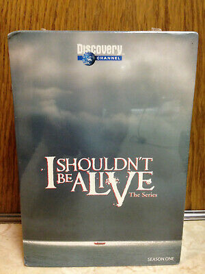 I SHOULDN'T BE Alive Season 1 (one) 5 DVD Box Set Discovery Channel