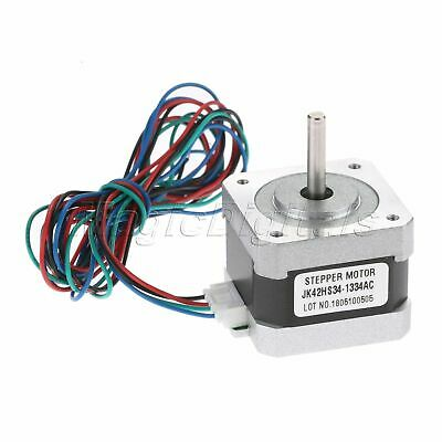 NEMA17 1.8° Degree 2-Phase 4-Wire 34mm Bipolar Stepper Motor For 3D Printer
