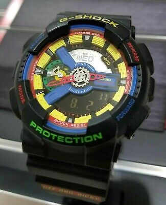 d729a6ea42d9 CASIO G-SHOCK DEE and Ricky Limited GA-110DR-1ACR RARE With NEW ...