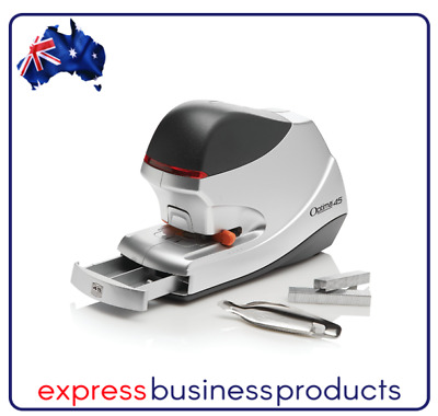 Rexel Optima Electric Staplers - Silver/Black -  ** FREE SHIPPING **