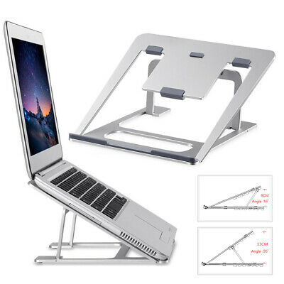 Aluminum Adjustable Laptop Desk Stand Tablet Holder for MacBook Notebook within