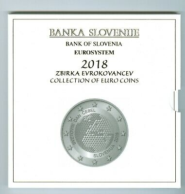 Slovenia Euro KMS 2018 (Pf only 750 Piece